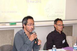Dr Vincent LO BIANCO, Médecin coordonnateur du FAM Pussin et Jean-Loup MARTIN, Cadre de Santé référent de la Maison des Usagers