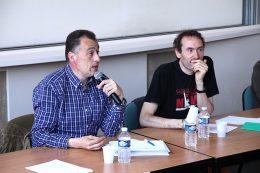 Vincent DEMASSIET (entendeur de voix) et Yann DEROBERT (psychologue)
