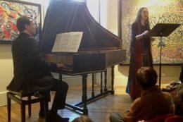 claveciniste Patrick Heilmann et la chanteuse Claire Bournez