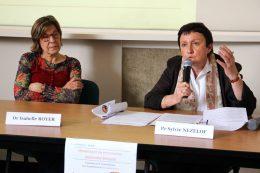 Dr Isabelle Royer (Médecin interniste au CH La Chartreuse) et Pr Sylvie Nezelof, Chef du service de pédopsychiatrie au CHRU de Besançon et Professeur de Pédopsychiatrie à l'Université de Besançon