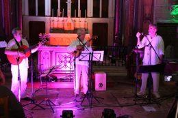 trio kantay à la chapelle du CH La Chartreuse