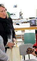 Françoise TENENBAUM, adjointe au maire de Dijon, déléguée à la solidarité, à la santé et aux personnes âgées, Catherine GOZZI, présidente du Conseil Local de Santé Mentale (CLSM) Franco Basaglia, adjointe Solidarité au maire de Quetigny