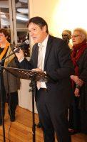 Bruno Madelpuech, directeur du CH La Chartreuse, Christine Martin, adjointe au Maire de Dijon, déléguée à la culture, à l'animation et aux festivals à la ville de Dijon,