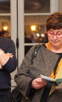 Alain Vasseur, vice-président de l'association Itinéraires Singuliers Christine Martin, adjointe au Maire de Dijon, déléguée à la culture, à l'animation et aux festivals à la ville de Dijon