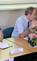 Bruno LAPLANE, Président du Tribunal de Grande Instance de Dijon, Bruno MADELPUECH, Directeur du Centre Hospitalier La Chartreuse, Dr Didier MALTAVERNE, Psychiatre au Centre Hospitalier La Chartreuse.