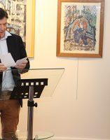 Bruno Madelpuech, directeur du CH La Chartreuse, Darya Suslova, experte des oeuvres de l'artiste,