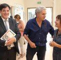 Bruno Madelpuech, directeur du CHLC – Alain Vasseur, cadre de santé – Laure Alexandre-Duband, responsable du centre de documentation