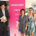 Bruno Madelpuech, directeur du CHLC -Laure Alexandre-Duband – responsable et Audrey Ferriez – assistante