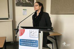 Edith SALES-WUILLEMIN, directrice du laboratoire Psy-DREPI