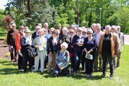 Visite de la Société Bourguignonne des Amis des Arbres