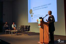 Dr Guillaume CHABRIDON, psychiatre, Pr Caroline CELLARD, de l'Université de Laval à Québec et Dr Juliette MARTIN, psychiatre au CIPP CHLC Dijon