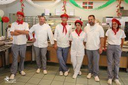 L'équipe du service restauration du CHLC Dijon met la gastronomie basque mise à l'honneur !