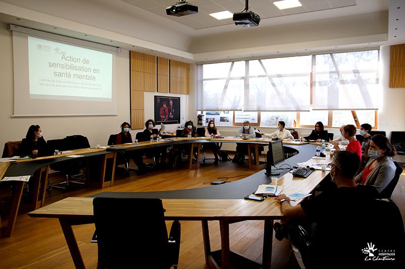 Actions de sensibilisation du CLSM Franco Basaglia