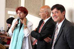 Marie-Christine TARRARE, Procureure de la République de Dijon, Claude CONSIGNY, Président du Tribunal de Grande Instance de Dijon et Bruno MADELPUEH, Directeur du CHLC