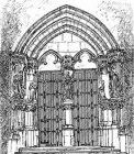 Portail de la chapelle CH La Chartreuse