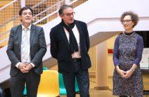 Bruno MADELPUECH, Jean-Yves PIAN et le Dr LOMBARD
