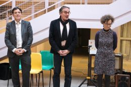 Les 20 ans des Vergers avec bruno MADELPUECH, Jean-Yves PIAN et le Dr LOMBARD