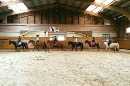 Atelier équitation de l'Equipe de Sport Adapté
