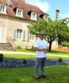 Jean-Philippe Maître, responsable Espaces Verts et Voiries au CH La Chartreuse
