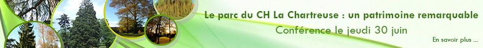 Conférence sur le parc du CH La Chartreuse