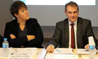 Nadia Montandon – Sous-directrice CPAM régulation et relations avec les professionnels de santé, Pierre-Henri Daure – Directeur FEDOSAD,