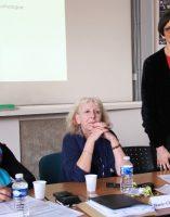 Pr Irène François-Purssell, chef de service de médecine légale, responsable de la CUMP Bourgogne, Marie-Claude Frénisy, psychologue, coordinatrice CUMP Bourgogne, Michèle Viard, infirmière au CH La Chartreuse.