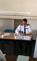 Lieutenant-colonel (RO) Alain DESGRANGE, Bruno MADELPUECH, Directeur du CH La Chartreuse et Lieutenant-colonel de la Réserve Citoyenne Lieutenant-colonel Pascal POME