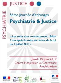 5ème journée d'échanges Psychiatrie & Justice