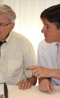 Bruno Madelpuech directeur du CH La Chartreuse Dr Jean-Pierre Capitain Psychiatre au Centre Hospitalier La Chartreuse de Dijon,