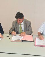 Dr Gérard Milleret président de la CME Bruno madelpuech directeur du CH La Chartreuse Dr Girod – Psychiatre