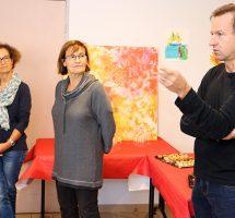 Dr Marie Lombard (médecin Gériatre), Brigitte Lorriaux (DRH), Eric Bardouillet (ingénieur service technique)