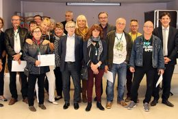 Cérémonie des médaillés du CH La Chartreuse 2017