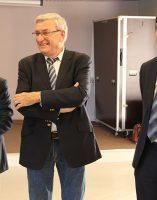 Dr Jean-Pierre CAPITAIN, Bruno MADELPUECH, directeur du Centre Hospitalier La Chartreuse (CHLC), Dr Gérard MILLERET, président de la CME du CHLC.