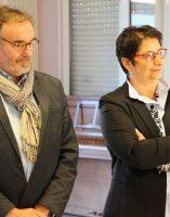Jean-Yves PIAN, président du Conseil de Surveillance, Emmanuelle COINT, vice-présidente du Conseil de Surveillance,