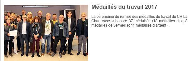 Médaillés du travail 2017