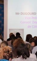 François Xavier Dugourd, Vice Président du Conseil Départemental de Côte d'Or,
