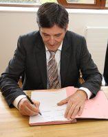 Bruno Madelpuech, directeur du Centre Hospitalier La Chartreuse