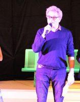 Alain Vasseur, vice-président de l'Association Itinéraires Singuliers et cadre de santé du CMP CATTP Bachelard, Françoise Vallet, bénévole et co-présidente du groupe local de la Cimade Dijon et Mathilde Ménager, fondatrice de la Cie Anda Jaleo (Comédienne, chanteuse, danseuse)