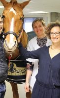 Peyo et Hassen Bouchakour, Dr Marie Lombard et Dr Lechenet