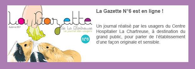 La Gazette N°6 est en ligne !