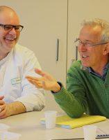 Alain RICHARD – Infirmier technicien, Dr Jean-Claude GIROD – Praticien Hospitalier Chef du Pôle B et Médecin référent consultations et unité du sommeil
