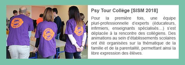 Psy Tour Collège [SISM 2018]