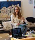Marie Audoin, psychologue au Centre Hospitalier La Chartreuse