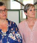 Claire Durante et Murielle CARILLON – Arthérapeute au CHLC