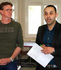 Olivier Peillard – Cadre de santé CIAMM, Farid Kohili – Directeur adjoint DSET