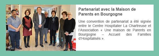 Partenariat avec la Maison de Parents en Bourgogne