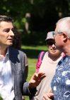 François Vittot, directeur pédagogique (pôle C psychiatrie de l'enfant et de l'adolescent), Jean-Philippe Maître, Responsable du service des espaces verts