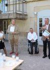 Bernard Maillot, Président du Club de Dijon Bourgogne, Denis Schenirer, Président du Club de Dijon Côte d'Or, Joël Caron, Président du Club de Dijon Toison  d'Or, Jeanne Di Loreto, cadre supérieur de santé (pôle C psychiatrie de l'enfant et de l'adolescent)