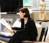 Anaïs Reymond, stagiaire à la Direction Qualité et Risques du Centre Hospitalier La Chartreuse