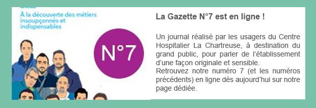 La Gazette N°7 est en ligne !